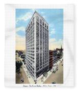Detroit - The Kresge Building - West Adams Street - 1918 Fleece Blanket