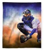 Detroit Tiger Alex Avila Fleece Blanket