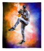 Detroit Tiger Justin Verlander Fleece Blanket