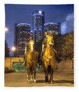 Detroit's Finest Detroit Mi Fleece Blanket