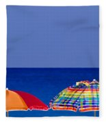 Deuce Umbrellas Fleece Blanket