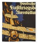 Deutsche Luftkriegsbeute Ausstellung Fleece Blanket