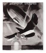 Deutsche Luftpost Fleece Blanket