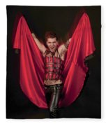 Devil 3 Fleece Blanket