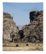 Devil's Gate - Wyoming Fleece Blanket