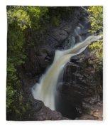 Devils Kettle Falls 3 Fleece Blanket