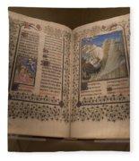 Devotional Book Fleece Blanket