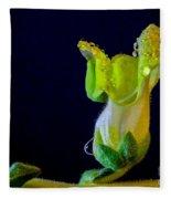 Dew On The Dragon Fleece Blanket