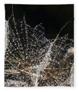 Dewy Seed Parachutes Fleece Blanket
