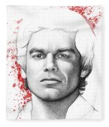 Dexter Morgan Fleece Blanket