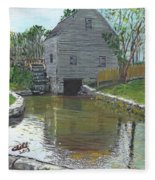 Dexter's Grist Mill - Cape Cod Fleece Blanket