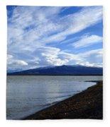 Dezadeash Lake Fleece Blanket