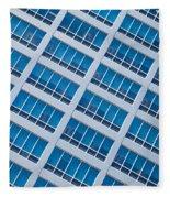 Diagonal View Fleece Blanket