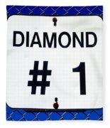 Diamond 1 Fleece Blanket
