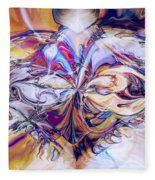 Diamond Heart Fleece Blanket