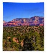Diamondback Gulch Near Sedona Arizona Fleece Blanket