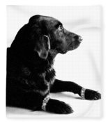 Diamonds Are A Dogs Best Friend Fleece Blanket