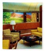 Diemaxium Living Room Fleece Blanket