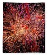 Diffuse Fireworks  Fleece Blanket