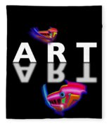 Digital Art Fleece Blanket