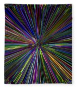 Digital Infinity Abstract Fleece Blanket