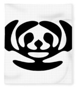 Digital Mono 11 Fleece Blanket