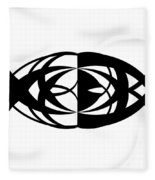 Digital Mono 13 Fleece Blanket