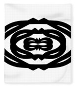 Digital Mono 14 Fleece Blanket