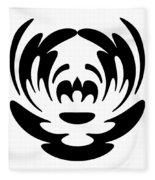 Digital Mono 15 The Clown Fleece Blanket