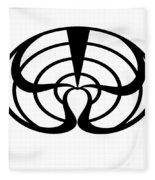 Digital Mono 2 Fleece Blanket