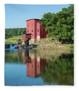 Dillard Mill At Dillard Mill State Fleece Blanket