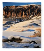Dillon Pinnacles Sunset Fleece Blanket