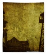 Diminished Dawn Fleece Blanket