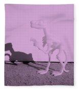 Dino Pink Fleece Blanket
