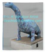 Dino The Bayville Dinosaur Fleece Blanket