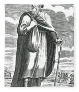 Diogenes Of Sinope, Ancient Greek Fleece Blanket