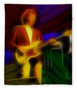 Dire Straits-gd-14a-fractal Fleece Blanket