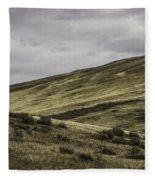 Disaster Peak Road Valley Fleece Blanket
