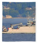 Discovery Bay Military Ops Ship Fleece Blanket