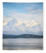 Early Morning Discovery Passage  Fleece Blanket