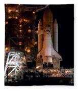 Discovery Space Shuttle Fleece Blanket
