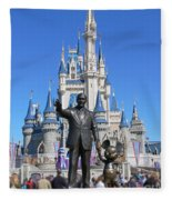 Disney And Mickey Fleece Blanket