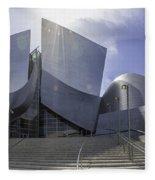 Disney Concert Hall Los Angeles Fleece Blanket