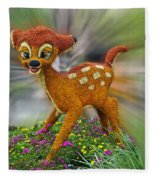 Disney Floral Bambi Fleece Blanket