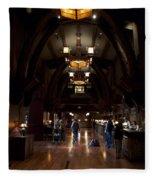 Disneyland Grand Californian Hotel Front Desk 01 Fleece Blanket