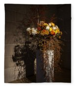 Displaying Mother Nature's Autumn Abundance Of Flowers And Colors Fleece Blanket