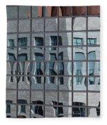 Distorted Reflections Fleece Blanket