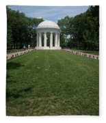 District Of Columbia War Memorial Fleece Blanket