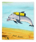 Dive Buddy Fleece Blanket