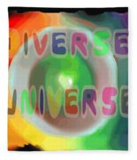 Diverse Universe Fleece Blanket